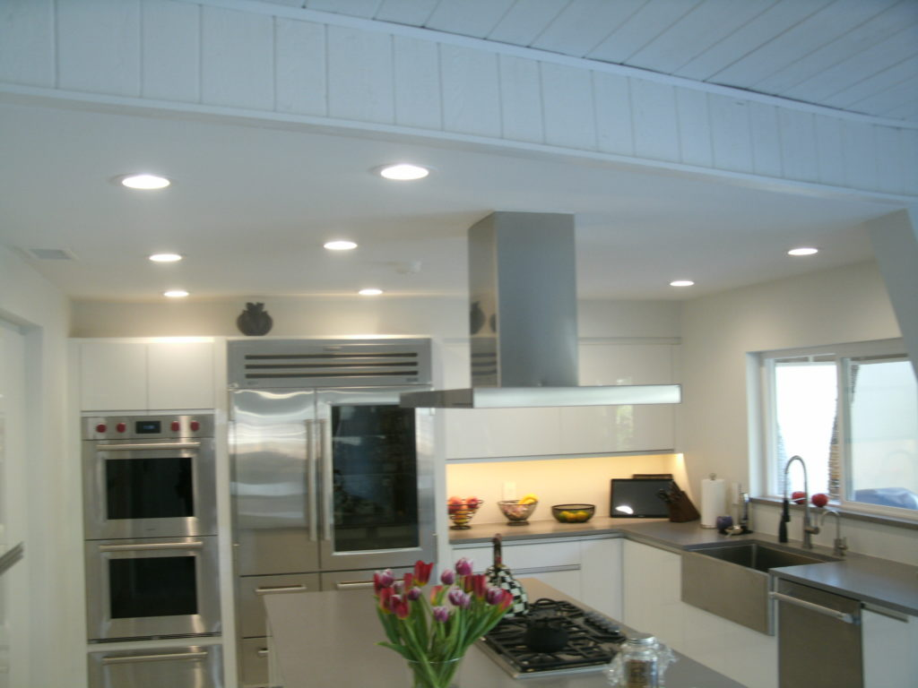 Electrician Kitchen Remodel