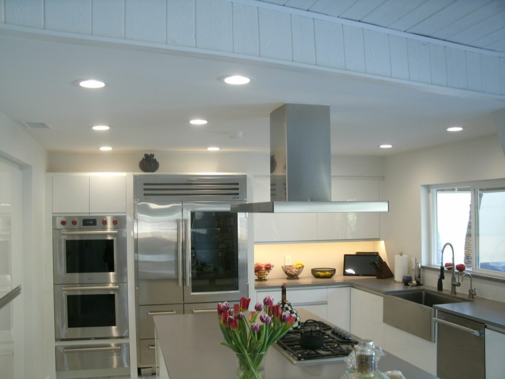 Electrical kitchen remodel