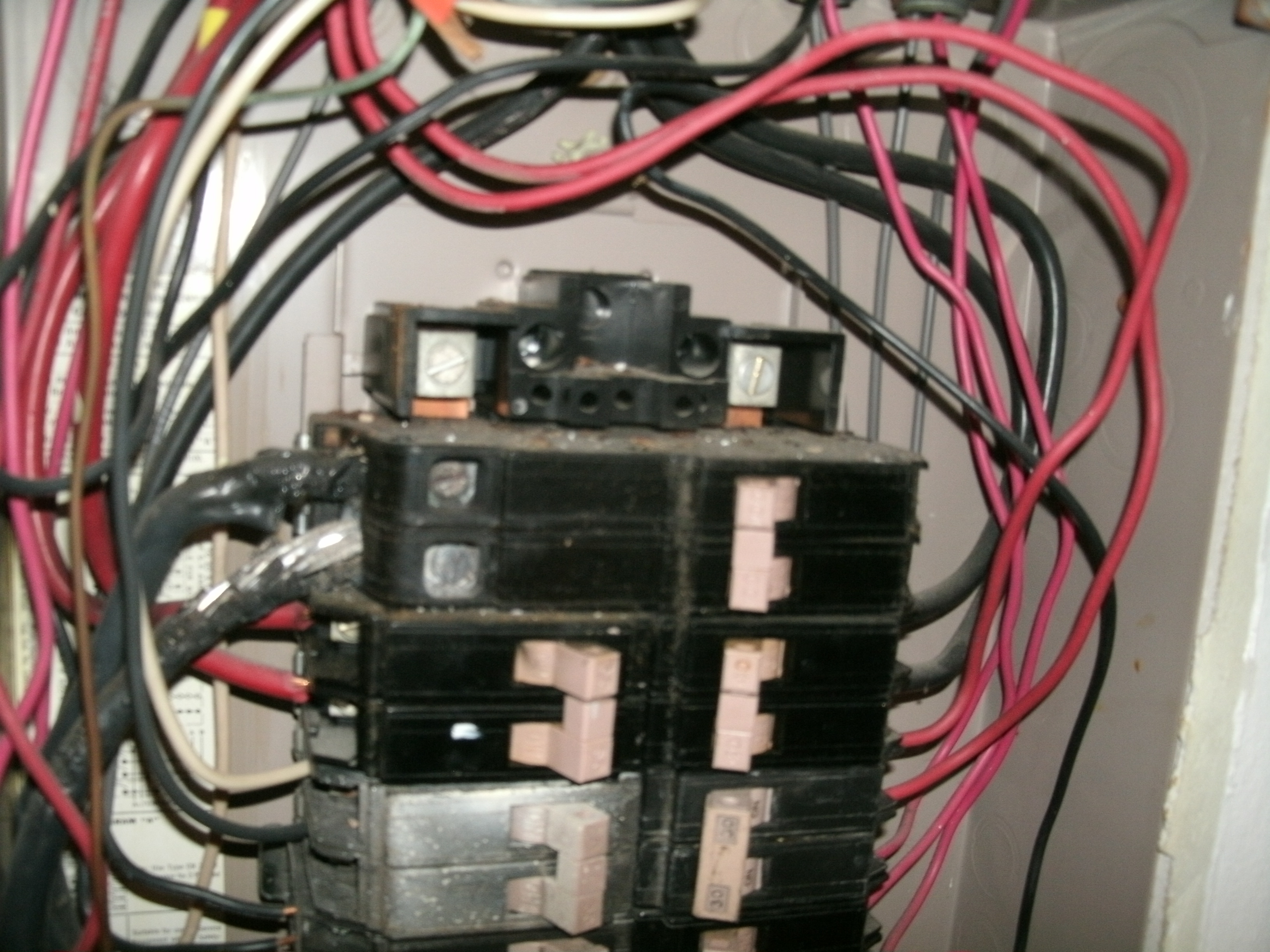 When to Upgrade an Electrical Panel Part 1   Montgomery ... Electrical Panel Wiring on